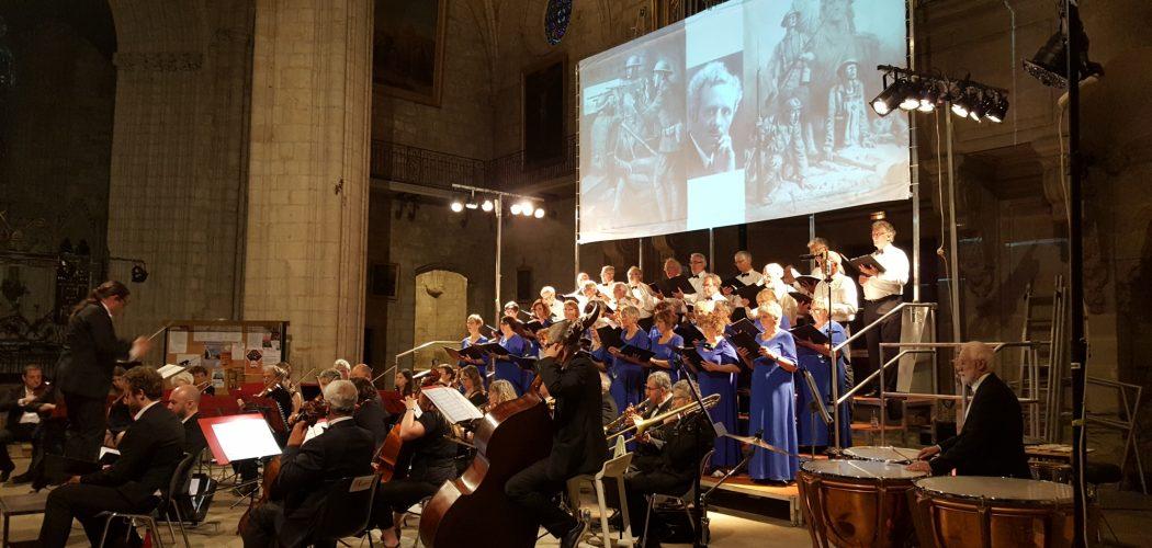 Concert commemoratif guerre Jacou