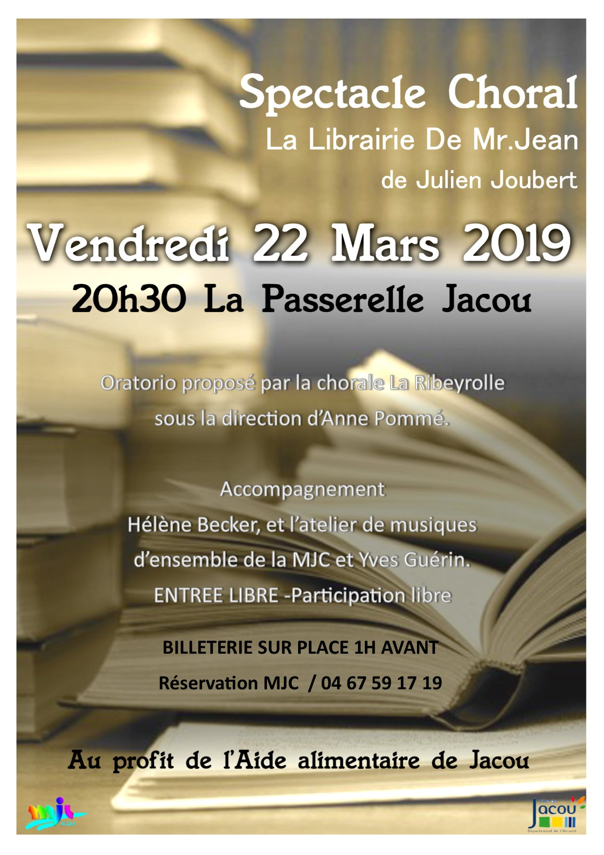 « La librairie de Monsieur Jean »