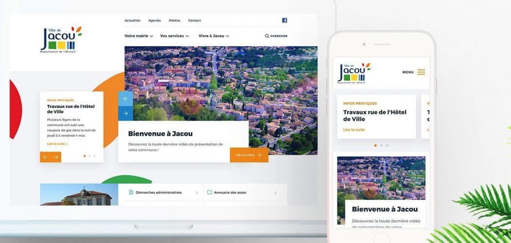 Nouveau site web Ville de Jacou