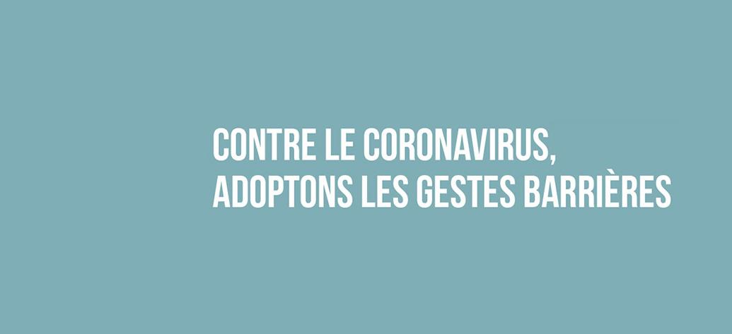 Info bons gestes - Coronavirus 2