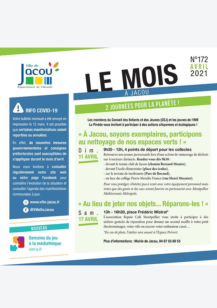 Le Mois à Jacou – Février 2021 1
