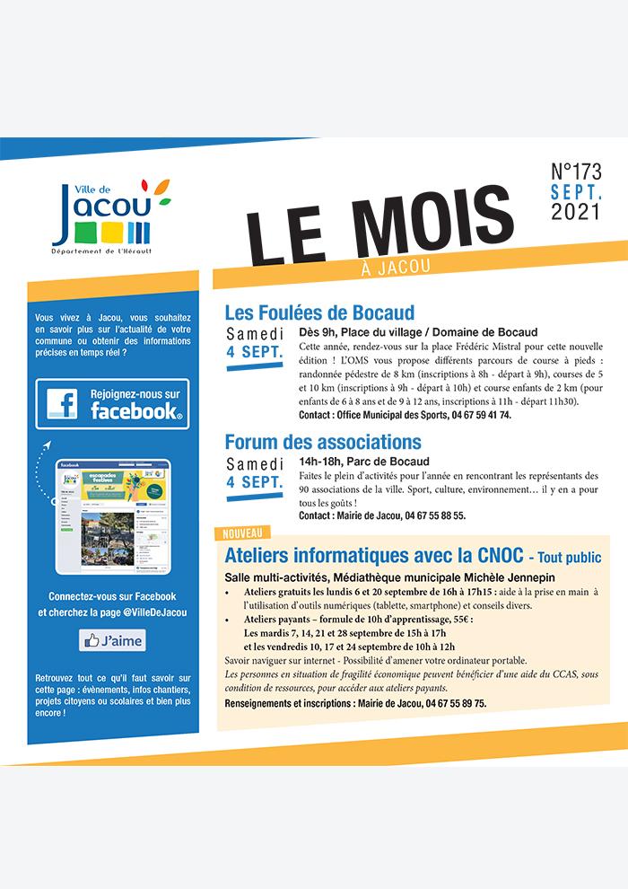 Le Mois à Jacou – s2021