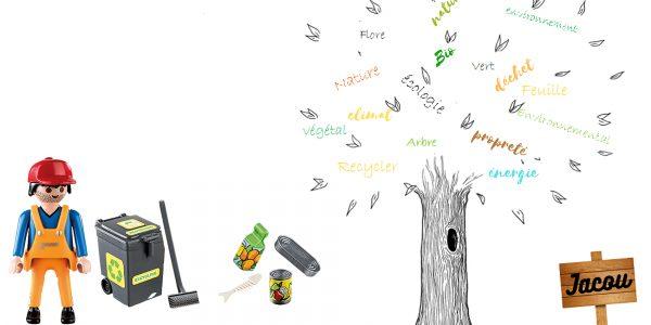 Action collective - nettoyage des espaces verts